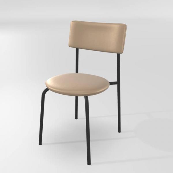 Chaise de cuisine en synthétique et métal - 10