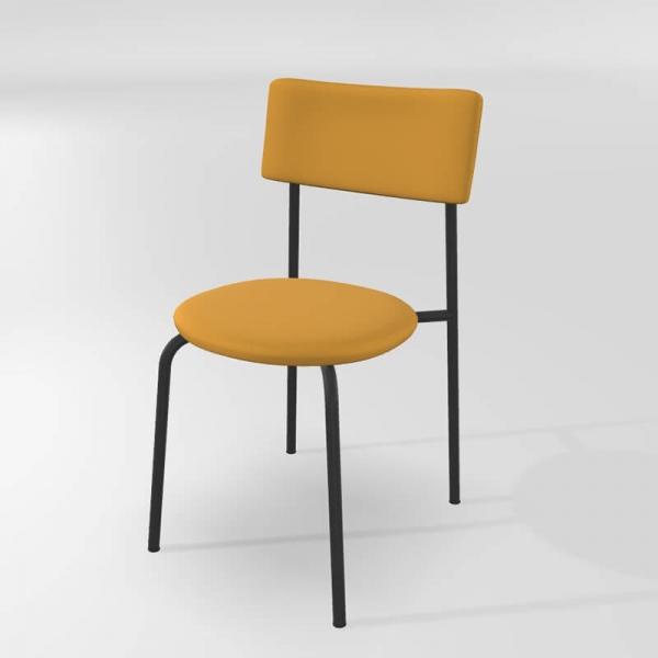 Chaise de cuisine en métal et synthétique  - 16