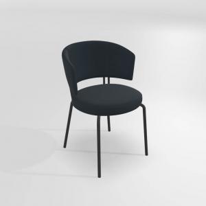 Chaise de salle à manger design en synthétique