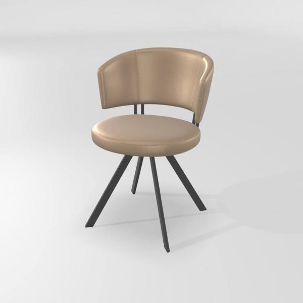 Chaise de salle à manger design et confortable  - 9