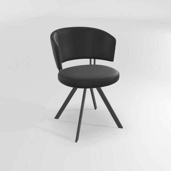 Chaise de séjour design en synthétique  - 10