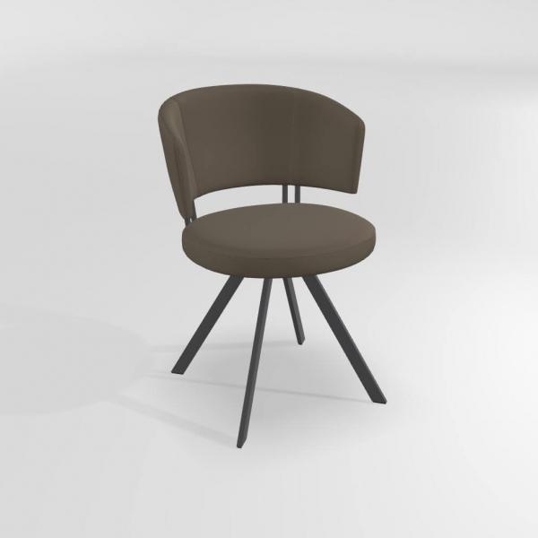 Chaise pivotante design pour salle à manger - 20