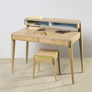 Bureau en bois avec rangements made in France