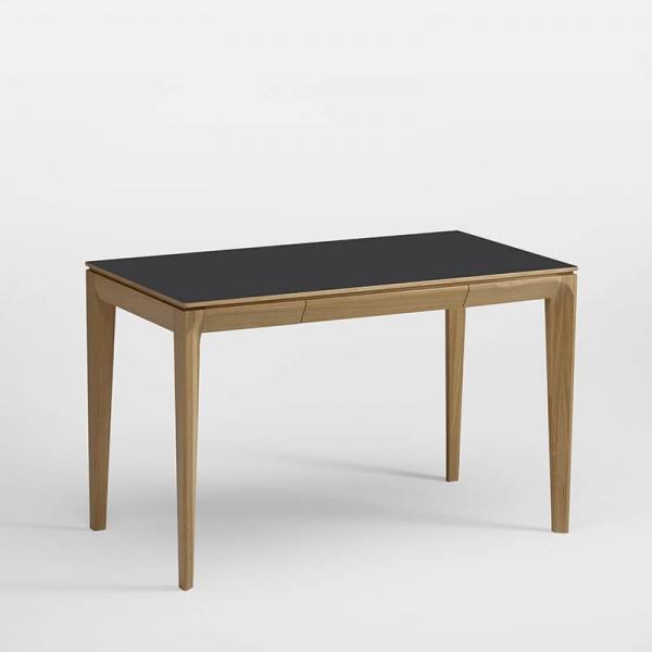 Bureau en bois et céramique avec tiroir - 1