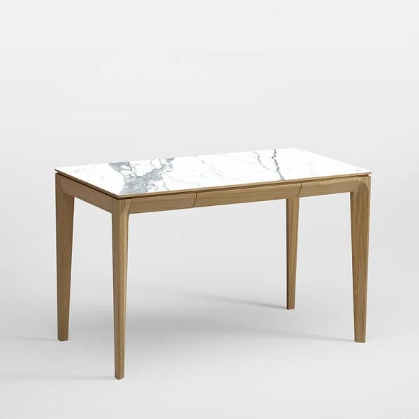 Bureau en bois et céramique origine France - 2