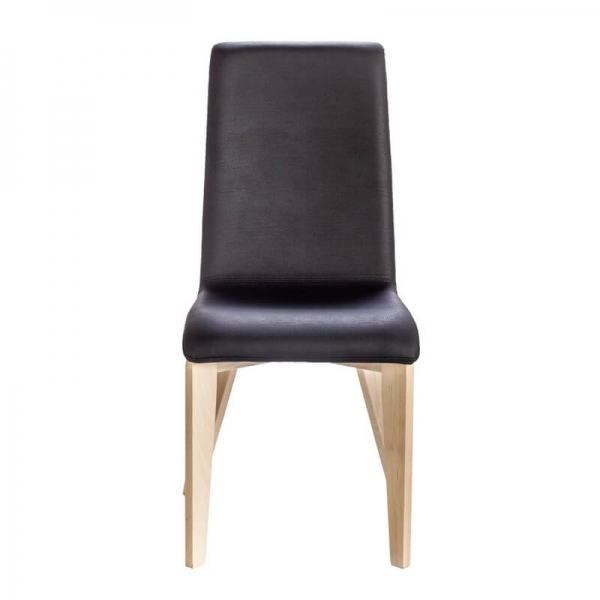 Chase made in France avec pieds bois et assise synthétique - Yam Eco - 7