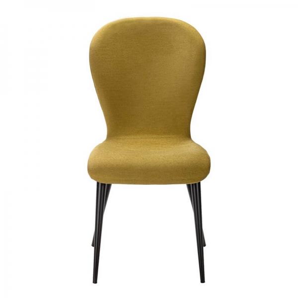 Chaise française en tissu et pieds métal - Lila Eco - 2