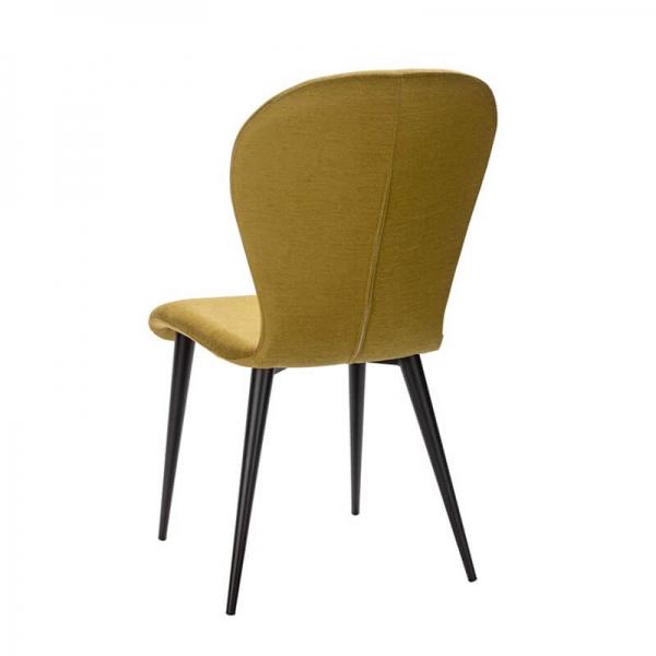 Chaise fabrication française en tissu et métal - Lila Eco - 4