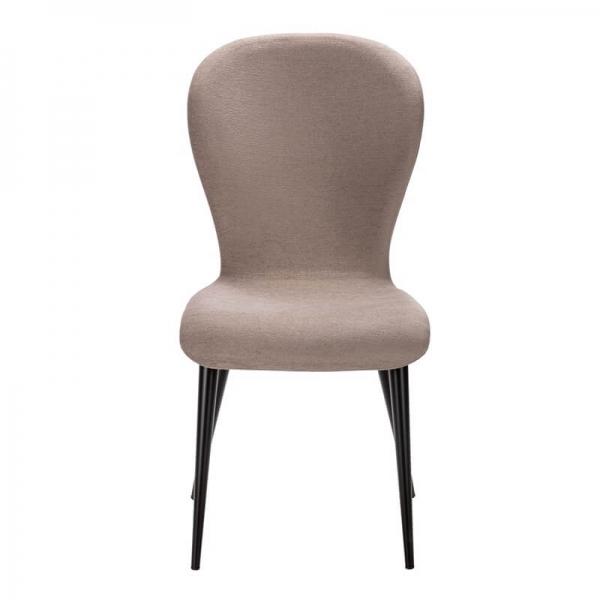 Chaise en tissu et pieds métal origine France - Lila Eco - 21