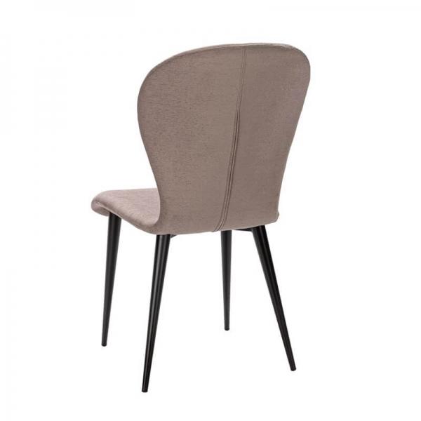Chaise fabriquée en France en tissu et métal - Lila Eco - 24