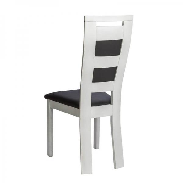 Chaise contemporaine française en bois et synthétique - Lize - 3