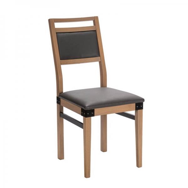 Chaise en bois et synthétique fabrication française - Factory - 1