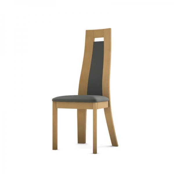 Chaise fabrication française en bois et synthétique - Cera - 3