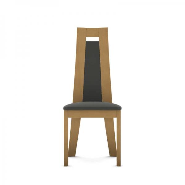 Chaise contemporaine en bois et synthétique fabrication française - Cera - 4