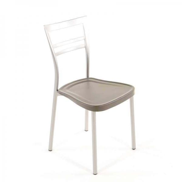 Chaise de cuisine en polypropylène et métal - Go 1419 19 - 19
