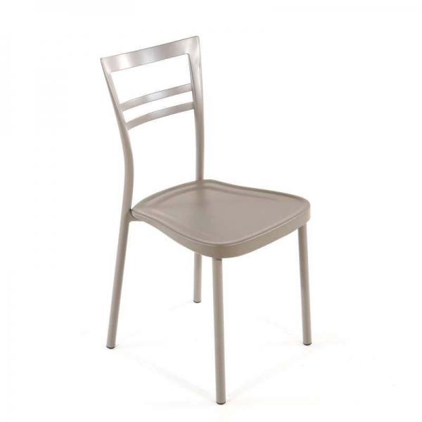 Chaise de cuisine en polypropylène et métal - Go 1419 9 - 9