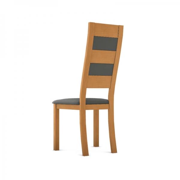 Chaise fabrication française en bois et synthétique - Zara - 3