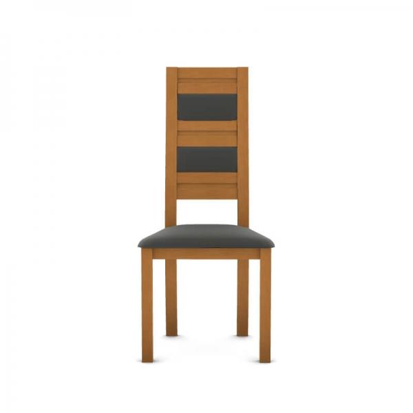 Chaise française contemporaine en bois et synthétique - Zara - 4