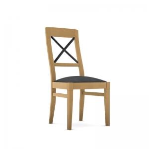 Chaise en bois et tissu fabrication française - Loft