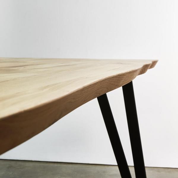 Table tendance style industriel pieds en épingle - Fusion - 3