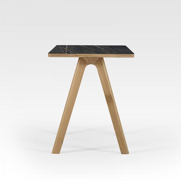 Bureau en céramique avec pieds bois made in France - 2