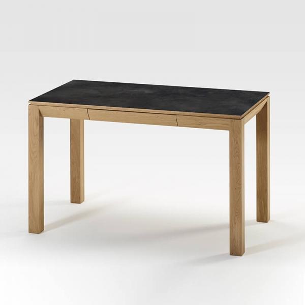 Bureau made in France en bois et céramique - 2