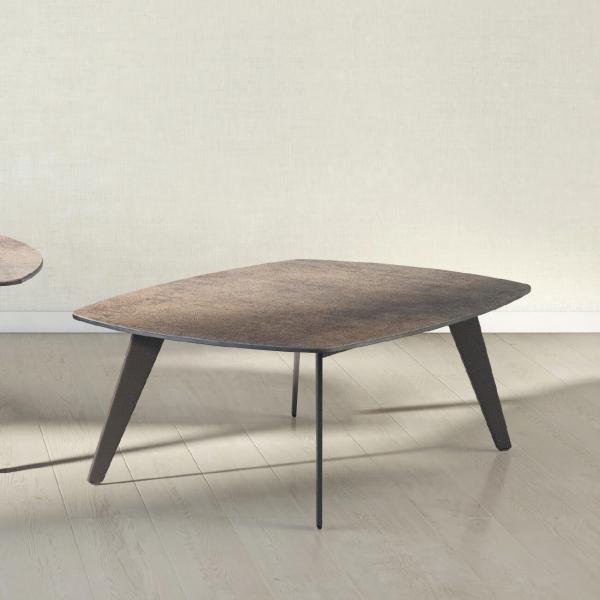 Table basse design en céramique - Infine mini - 1
