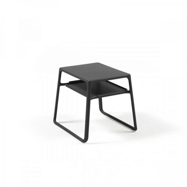 Table basse de jardin carrée empilable en polypropylène - Pop - 3