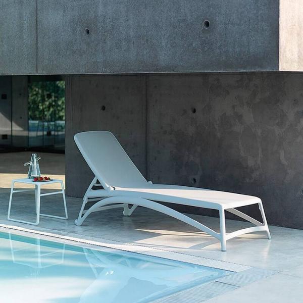 Table basse de jardin carrée empilable en polypropylène - Pop - 13