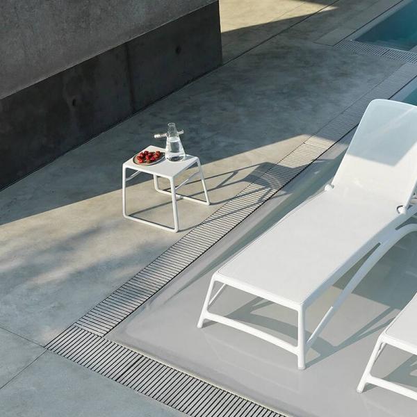 Table basse de jardin carrée empilable en polypropylène - Pop - 15