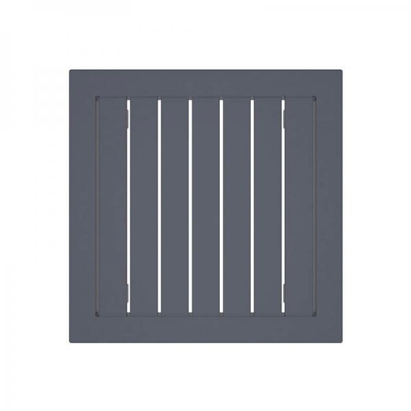Table en résine carrée pour jardin - 22