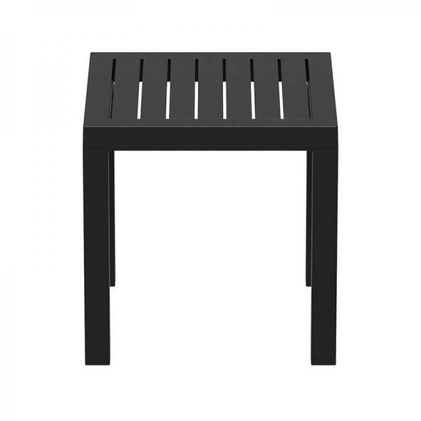 Table d'appoint pour jardin en plastique noire - 19