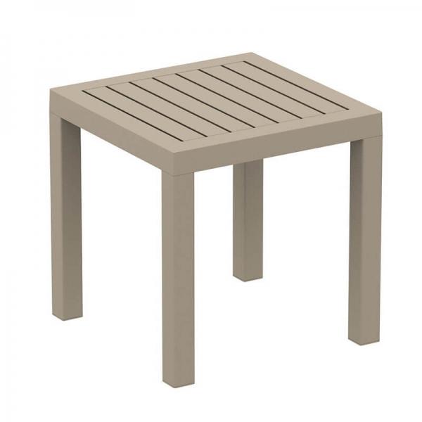 Table d'appoint pour jardin en résine  - 14