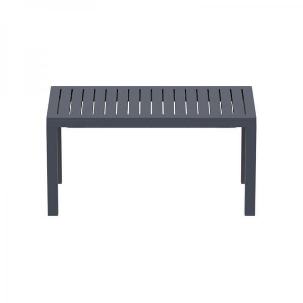 Table de terrasse rectangle en plastique - 15