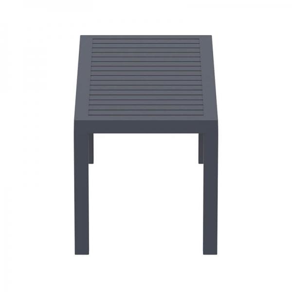 Table de terrasse rectangulaire en résine - 20