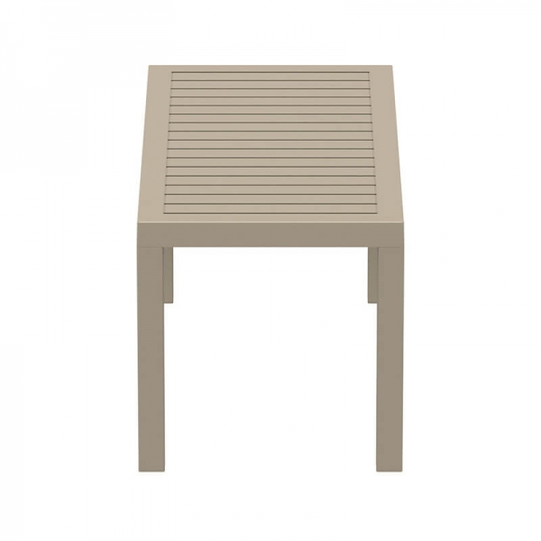 Table de terrasse rectangulaire en plastique - 19