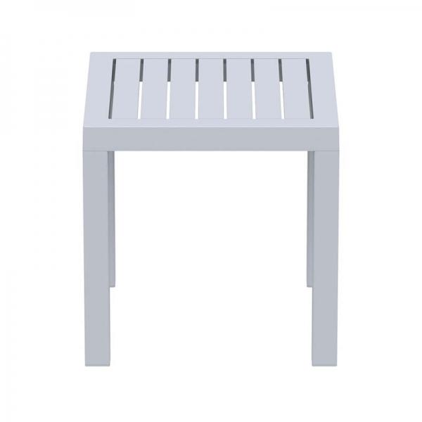 Table basse carrée pour jardin - 21