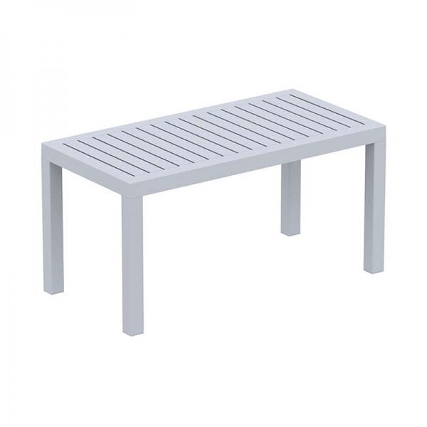 Table basse rectangulaire pour jardin - 12