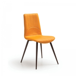 Chaise en synthétique et métal made in Italy