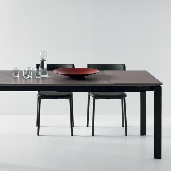 chaise de cuisine noire - 26