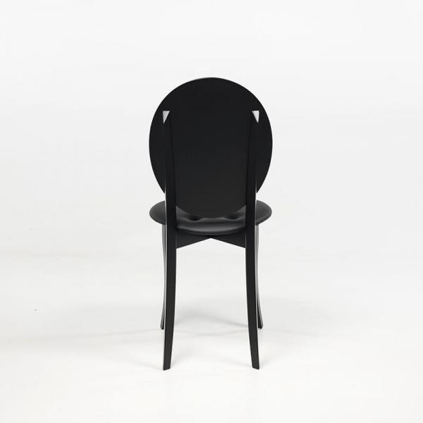 Chaise originale design italien coloris noir - Antonietta - 9