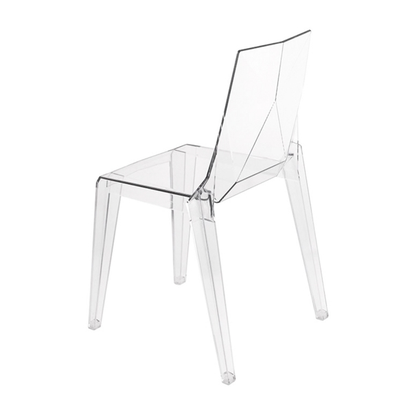 Chaise transparente fabrication italienne - Ice - 8