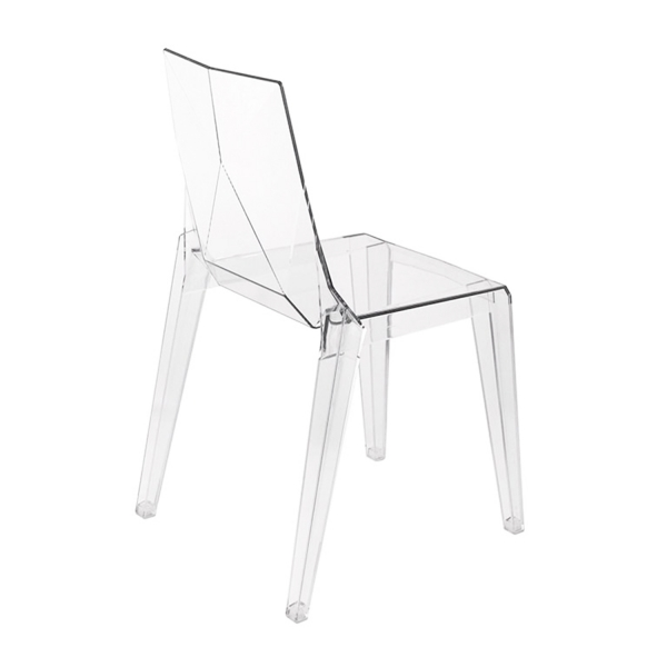 Chaise fabrication italienne en polycarbonate - Ice - 7