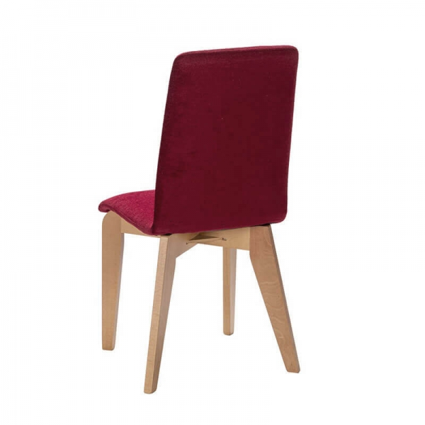 Chaise française en bois et tissu - Yam Eco - 20