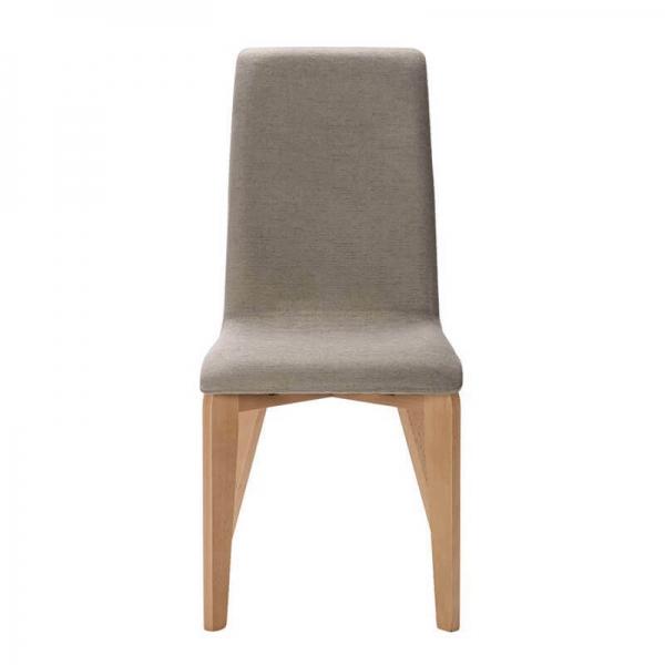 Chaise française en tissu et pieds bois - Yam Eco - 23