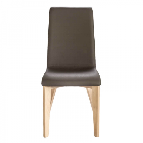 Chaise en bois massif et assise synthétique made in France - Yam Eco - 11