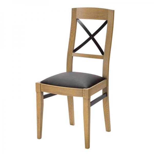 Chaise en bois avec assise synthétique made in France - Loft - 2