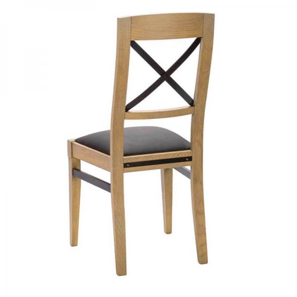 Chaise en bois française avec assise en synthétique - Loft - 4