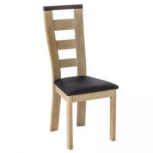 Chaise en bois et synthétique fabrication française - Liza