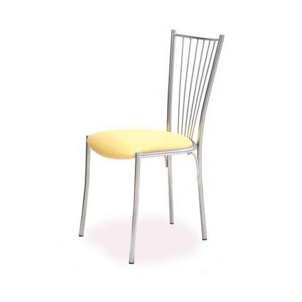 Chaise de cuisine contemporaine en métal - Etna - 2